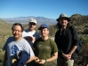 in Tuscon desert with Kevin Kataoka,Mike Steiner & Robert Mac