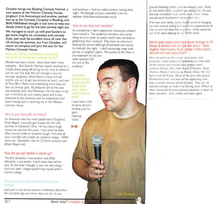 Round & About Magazine