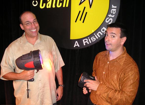 with Rob Brackenridge in Atlantic City