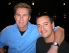 with Brian Regan in Cleveland